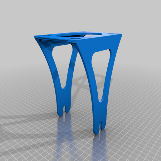 Support_bobine.png Download free STL file Filament spool stand Alfawise U20 • Template to 3D print, sebbmx