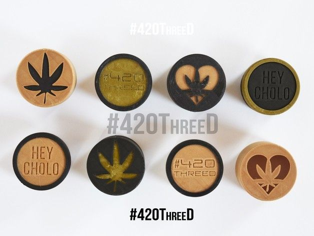 1649201b58814fb1c1941e3281db48a0_preview_featured.jpg Download free STL file Toothless Herb Grinder 1.0 By 420ThreeD • 3D printer design, 420ThreeD