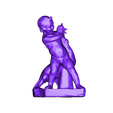 BoyGrapplingGooseStatue.stl Download free STL file Various Cthulhu Props x25 • 3D printing object, CharlieVet