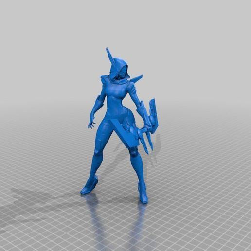 f793a6a0cf0aa8967394db059196eb10.png Download free STL file League of Legends Champion and Skin Collection • 3D printing object, MateoCG3D