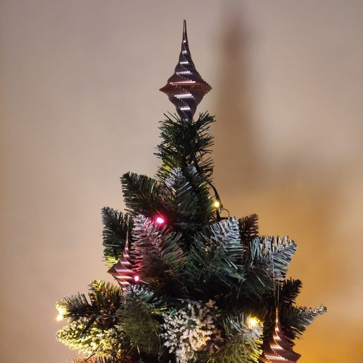 WhatsApp Image 2020-11-25 at 1.17.58 PM.jpeg Download STL file Christmas tree decorations • 3D printer design, the-lazy-engineer
