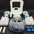 R2D2 08.png Download STL file R2D2 for alexa made by amazon • Object to 3D print, 3dMestres