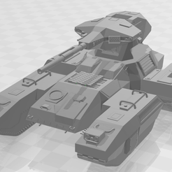 Halo_scorpion_2.png Download free STL file Halo Ground Command Scorpion MBT • Template to 3D print, sneakyzaku