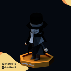 LOW POLY SOULS insta-01.png Download STL file Low Poly Souls - Marvelous Chester • 3D printer model, Sahiko12