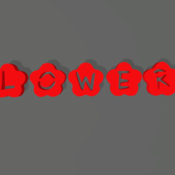 Screenshot_4.png Download free STL file LETTERS AND NUMBERS FLOWERS🌺 • 3D printable template, mistic-3d