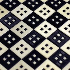 DSC_0011_display_large_display_large.jpg Download free STL file Chess / checker board • 3D printable object, Germanillicoldo