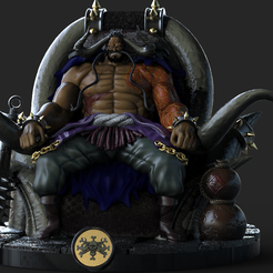untitled.64.png Download STL file ONEPIECE Kaido of the 100 beasts • 3D printing model, DB3DCollectible