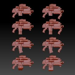 Occulus_bolt_carbines.jpg Download free STL file High Caliber Carbines For Space Recon • 3D printer template, oh_my_godable