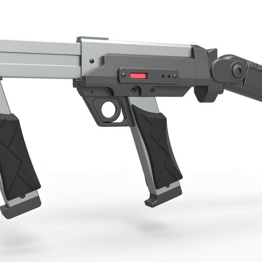 2.jpg Download STL file Blaster rifle from the movie Lost in space 1998 • 3D print model, CosplayItemsRock