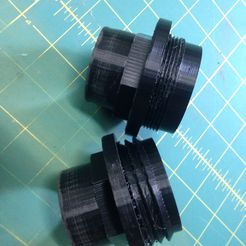 IMG_0598.JPG Download free STL file Rain water collection fittings • 3D printing object, Scorpa54
