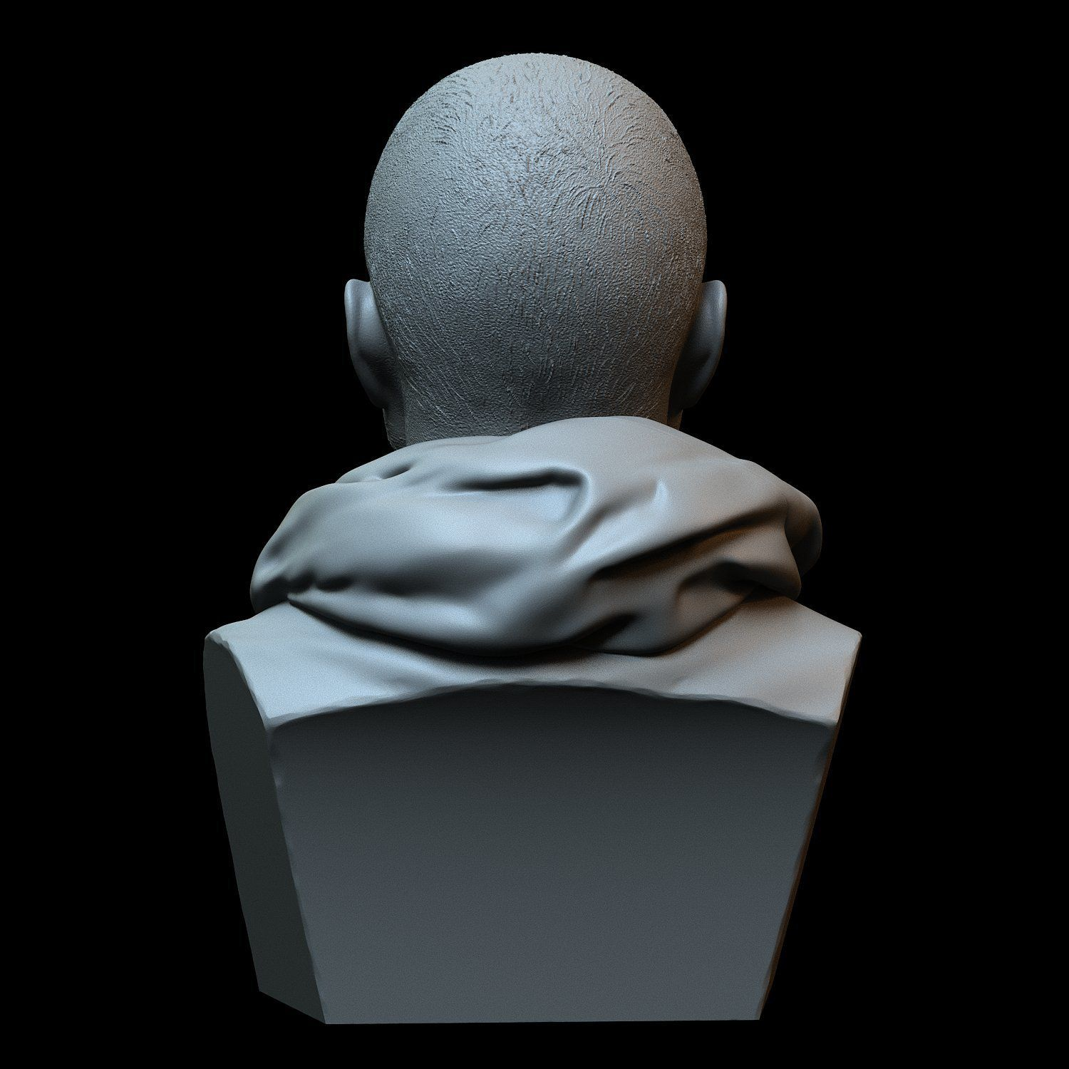 Jesse06.jpg Download STL file Aaron Paul - known for his role as Jesse Pinkman • 3D printable object, sidnaique