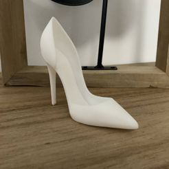 IMG_1001.JPG Download STL file High Heels Stiletto • 3D printer model, JOlivier