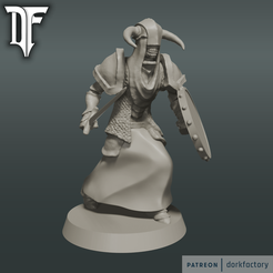 undead_guard.png Download free STL file Undead Guard • Model to 3D print, dorkfactory