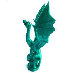 dragon.jpg Download free STL file Aria The Dragon • 3D printing object, loubie