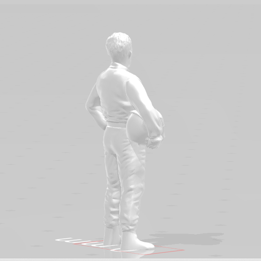 Snapshot_50.png Download STL file Driver X Racing Racer f1 Indy Nascar racer • 3D printer model, moviemasterdvd