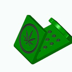 weed-phone.jpg Download free STL file phone support • 3D printing design, MLL