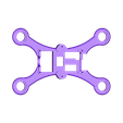 Hexa_125_2s_compartiment_fc_renforcer.stl Download free STL file Hexacopter 1S / 2S 125 / 110mm spracing f3 coreless 8.5x20mm • Design to 3D print, Microdure