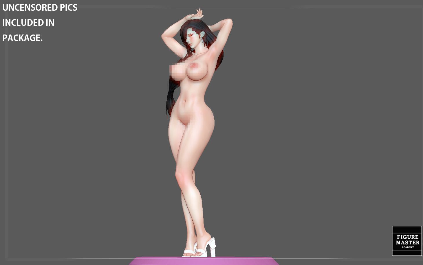 27.jpg Télécharger fichier STL TIFA SEXY NAUGHTY NAKED HENTAI VERSION FINAL FANTASY CHARACTER ANIME STATUE 3D MODEL • Objet pour impression 3D, figuremasteracademy