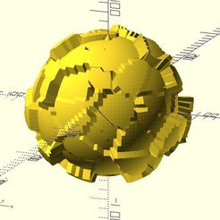 worley_noise_ball2.jpg Download free STL file Worley Noise Ball • Model to 3D print, JustinSDK