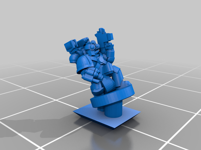 PlateArmourCommand_Medic.png Download free STL file Galactic Crusaders - Plate Armour Command - 6-8mm • 3D printable model, MoonJammy
