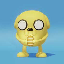 A03CAF3E-9260-447C-9966-274CDB1B4EE7.jpeg Download free STL file Jake The Dog • Template to 3D print, JessiNiceToys
