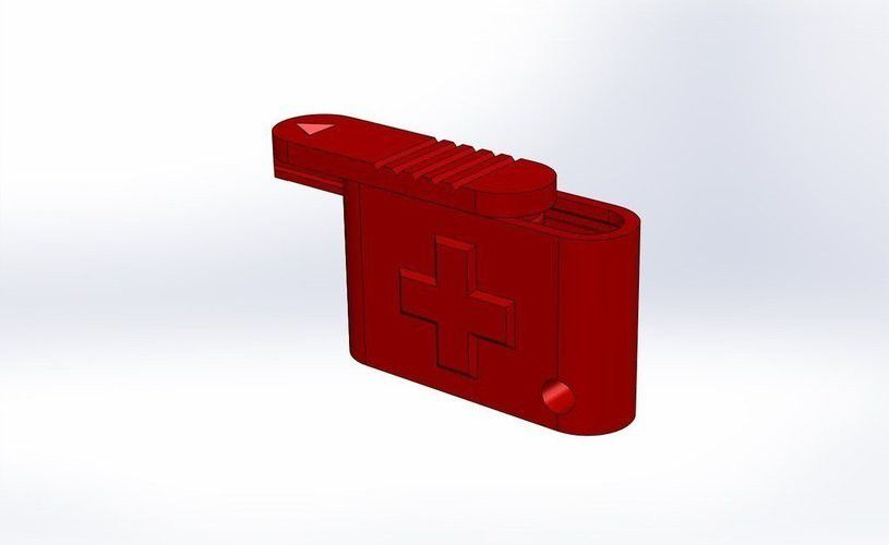 container_keychain-pill-box-3d-printing-52983.jpg Download free STL file Keychain Pill Boxes • 3D printable object, Mister_G