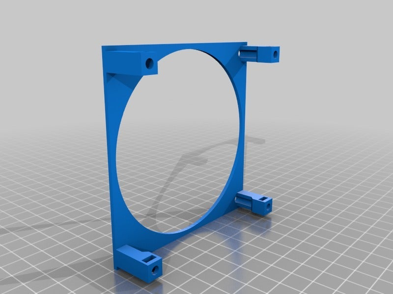 f12f84068422ec1fb949ab61a6911d06.png Download free STL file Anet A8 Fan Holder • 3D printing template, lucadilorenzo98