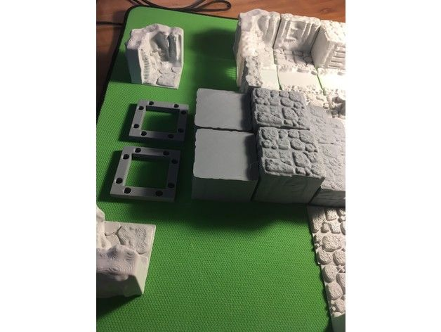 abfc4c5877678df948ba94b18f76543b_preview_featured.JPG Download free STL file Cavern Riser Blocks (Openforge 2.0 compatible) • Model to 3D print, Poxos