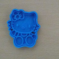 4855674d-6973-4268-9bec-4d203b7a4a6b.jpg Download STL file HELLO KITTY COOKIE CUTTER • 3D printer design, KDASH