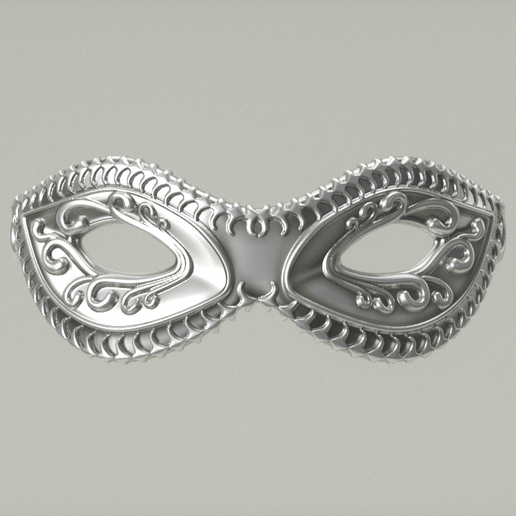 carnival _mask_20_03_0002.png Download STL file Carnival Mask Collection 7 pieces Masquerade facewear • 3D print template, polygonface
