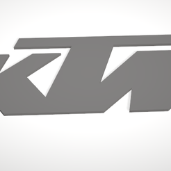 ktm.png Download free STL file KTM Logo • Design to 3D print, Uppergrade
