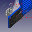 Extruder_BlTouch_distance.png Download free STL file Big Bertha - An Artillery Genius AIO Extruder Cover + Blower + Cable Relief + BLTouch • 3D printer design, jp_math