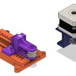 Pic_2.jpg Download free STL file Adjustable Idler Tension for GT2 Timing Belt Pulley with NEMA 17 • 3D printer design, jakabo27