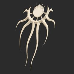 CthulhuCultistPendant.jpg Download free STL file Cthulhu Cultist Pendant • Model to 3D print, CharlieVet