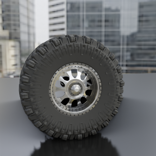 """0027.png Download STL file WHEEL FOR CUSTOM TRUCK 01A-""""BADASS"""" R5 (FRONT AND DOUBLED BACK) • 3D printing object, Pixel3D"""