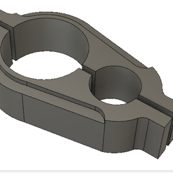 shoe.png Download free STL file Shoe For CNC Router / Base for CNC Motor and Vacuum Hose • 3D printing template, welabit