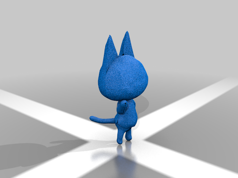 raymond2.png Download free STL file Raymond - Animal Crossing • 3D print design, skelei