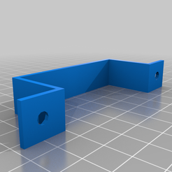 Desk_mount.png Download free SCAD file Customizable desk mount for cables, PSU or USB hubs (or handlebar) • 3D printing object, pandronu