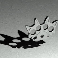 puño americano-Temp0063.png Download free STL file TWIN CAT MITTEN • 3D printing design, sergioalbertoortizbarajas