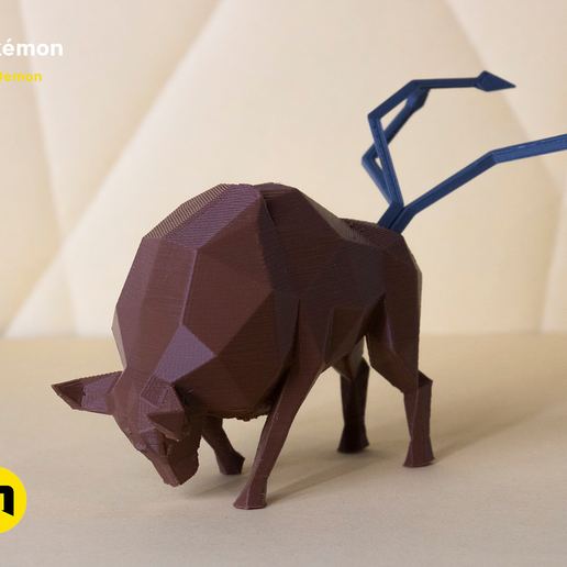 pokemon-low-poly001.png Download file Low Poly Pokemon Collection 151 • 3D printable object, 3D-mon
