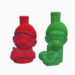 Sin título.jpg Download STL file Mouthpiece Cachimba / Shisha Mario and Luigi • 3D printable model, Shisha3D