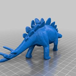 e1adc30f5072ecbc27f8cc371f70c8ff_display_large.jpg Download free STL file Stegosaurus III • 3D print model, sjpiper145
