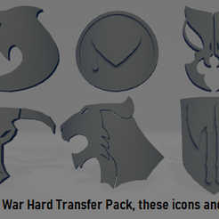 Thumb.png Download STL file Badab War Space Marine Chapters Hard Transfer Pack • 3D print design, Hyfryd
