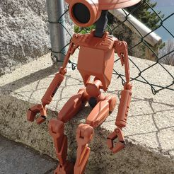 IMG_20210227_132420.jpg Download STL file PIT DROID 1:2 • 3D printer object, Tuitxy