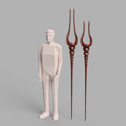 Lance 1.png Download STL file Evangelion Lance Of Longinus • Object to 3D print, PiperMakes