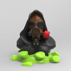 coronavi.jpg Download STL file gas mask • 3D print object, fer4lvarez