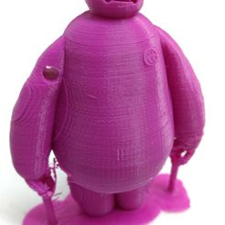 IMG_20170716_150209786.jpg Download free STL file Baymax (Flat Feet and Supports) for keychain • 3D print model, APM9874