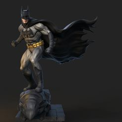 batman turntable.0.jpg Download free STL file batman redesign • 3D printable design, tutus