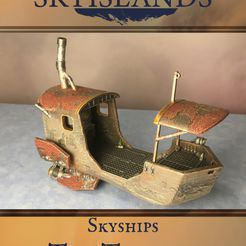 resize-9-1.jpg Download STL file Sky Islands: The Trawler • 3D printing object, AetherStudios