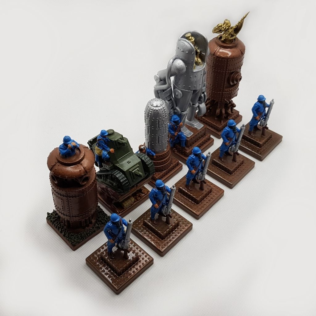 Steampunk-chess-game-C-02b.jpg Download STL file Steampunk chess game. • 3D printer design, Alphonse_Marcel